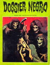 Cover Thumbnail for Dossier Negro (Ibero Mundial de ediciones, 1968 series) #29