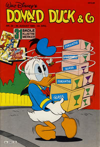 Cover Thumbnail for Donald Duck & Co (Hjemmet / Egmont, 1948 series) #35/1989