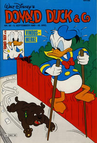 Cover Thumbnail for Donald Duck & Co (Hjemmet / Egmont, 1948 series) #36/1989