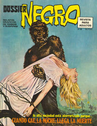 Cover Thumbnail for Dossier Negro (Ibero Mundial de ediciones, 1968 series) #58