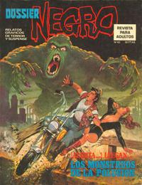 Cover Thumbnail for Dossier Negro (Ibero Mundial de ediciones, 1968 series) #62