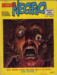 Cover Thumbnail for Dossier Negro (Ibero Mundial de ediciones, 1968 series) #63