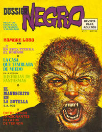 Cover Thumbnail for Dossier Negro (Ibero Mundial de ediciones, 1968 series) #71