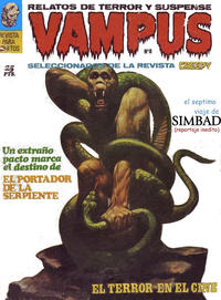 Cover Thumbnail for Vampus (Ibero Mundial de ediciones, 1971 series) #8