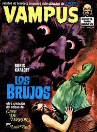 Cover Thumbnail for Vampus (Ibero Mundial de ediciones, 1971 series) #31