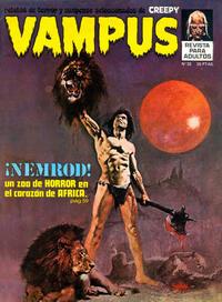 Cover Thumbnail for Vampus (Ibero Mundial de ediciones, 1971 series) #32