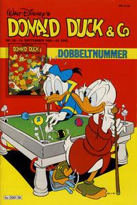 Cover Thumbnail for Donald Duck & Co (Hjemmet / Egmont, 1948 series) #38/1989