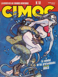 Cover Thumbnail for Cimoc (NORMA Editorial, 1981 series) #51