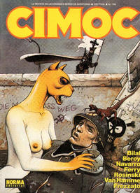 Cover Thumbnail for Cimoc (NORMA Editorial, 1981 series) #109