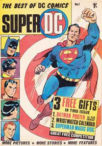 Cover Thumbnail for Super DC (Thorpe & Porter, 1969 series) #1