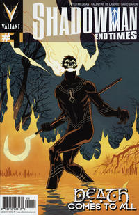Cover Thumbnail for Shadowman: End Times (Valiant Entertainment, 2014 series) #1 [Cover A - Giuseppe Camuncoli]