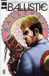 Cover for Ballistic (Black Mask Studios, 2013 series) #5