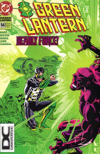 Cover Thumbnail for Green Lantern (DC, 1990 series) #54 [DC Universe Corner Box]