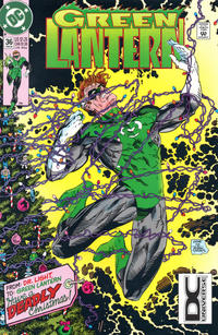 Cover for Green Lantern (DC, 1990 series) #36 [Direct]