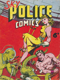 Cover Thumbnail for Sky Police Comics (Cartoon Art, 1949 series)