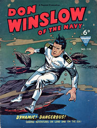 Cover Thumbnail for Don Winslow of the Navy (L. Miller & Son, 1952 series) #114
