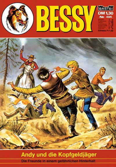 Cover for Bessy (Bastei Verlag, 1965 series) #495
