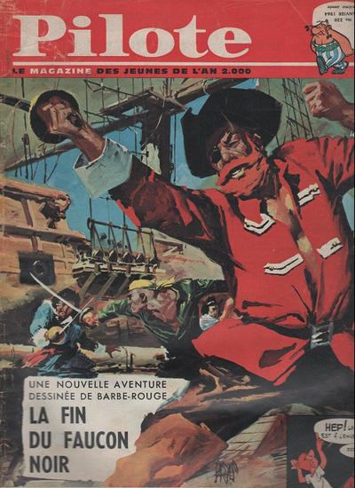Cover for Pilote (Dargaud, 1960 series) #220