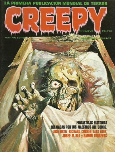 Cover for Creepy (Toutain Editor, 1979 series) #9