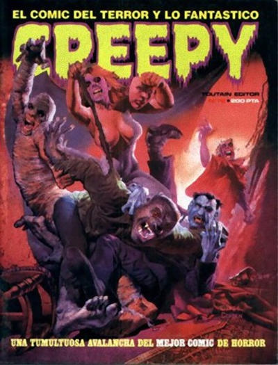 Cover for Creepy (Toutain Editor, 1979 series) #72