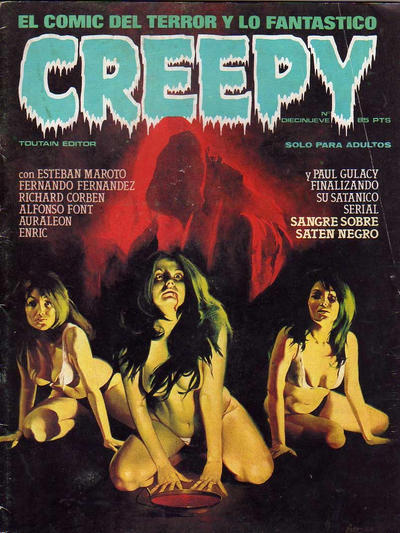 Cover for Creepy (Toutain Editor, 1979 series) #19