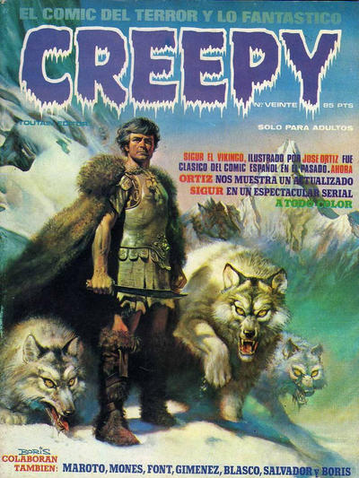 Cover for Creepy (Toutain Editor, 1979 series) #20