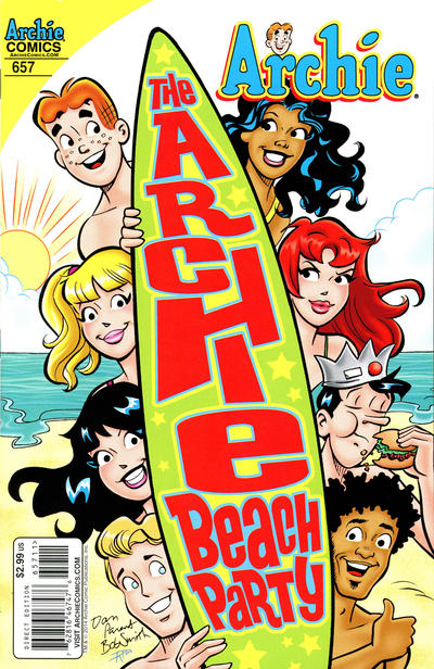 Cover for Archie (Archie, 1959 series) #657 [Art Baltazar Variant]