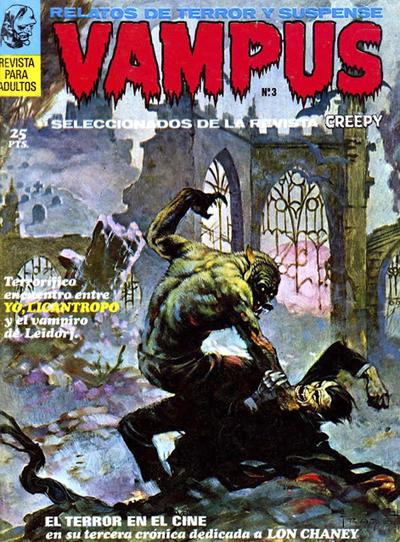 Cover for Vampus (Ibero Mundial de ediciones, 1971 series) #3