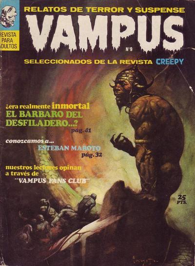 Cover for Vampus (Ibero Mundial de ediciones, 1971 series) #9
