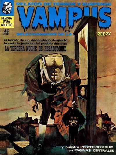 Cover for Vampus (Ibero Mundial de ediciones, 1971 series) #15