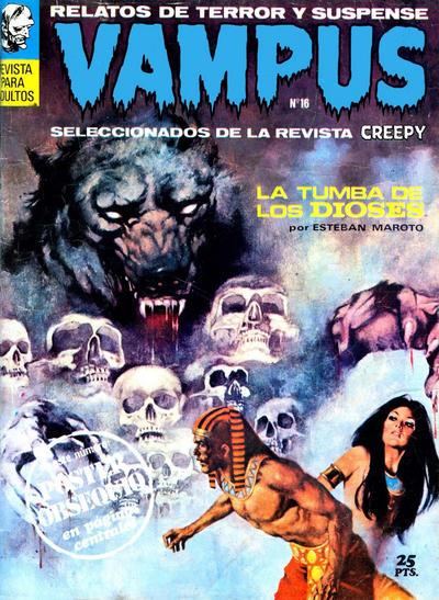 Cover for Vampus (Ibero Mundial de ediciones, 1971 series) #16