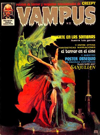 Cover for Vampus (Ibero Mundial de ediciones, 1971 series) #22
