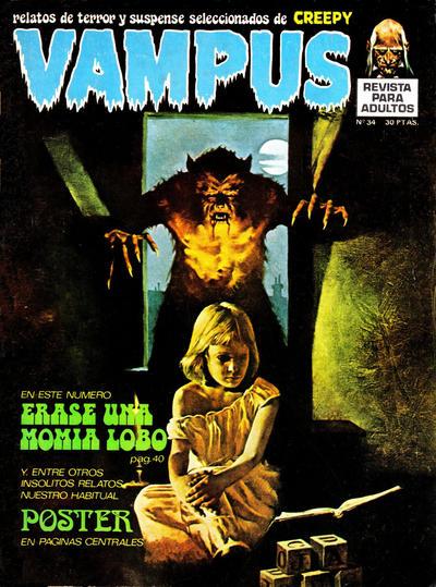 Cover for Vampus (Ibero Mundial de ediciones, 1971 series) #34