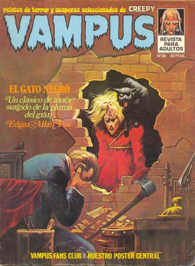 Cover for Vampus (Ibero Mundial de ediciones, 1971 series) #36