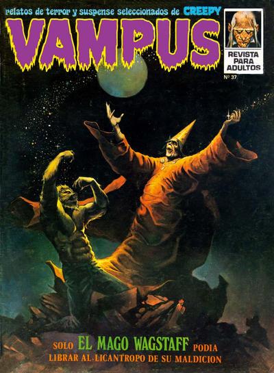 Cover for Vampus (Ibero Mundial de ediciones, 1971 series) #37