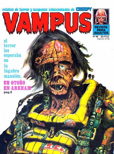 Cover for Vampus (Ibero Mundial de ediciones, 1971 series) #40