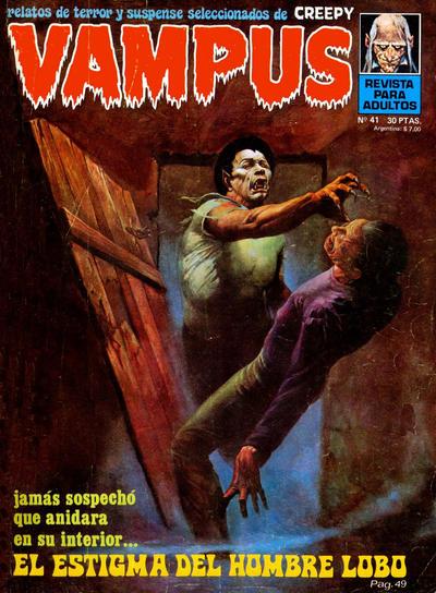 Cover for Vampus (Ibero Mundial de ediciones, 1971 series) #41