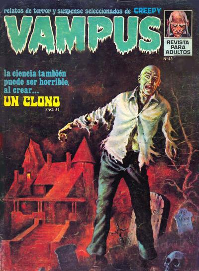 Cover for Vampus (Ibero Mundial de ediciones, 1971 series) #43