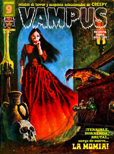 Cover for Vampus (Garbo, 1975 series) #45