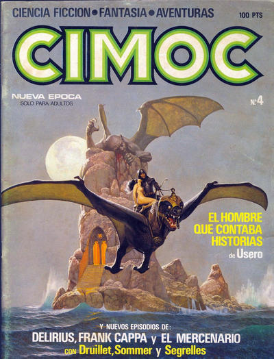 Cover for Cimoc (NORMA Editorial, 1981 series) #4