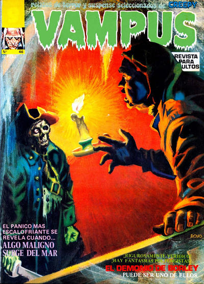 Cover for Vampus (Garbo, 1975 series) #46