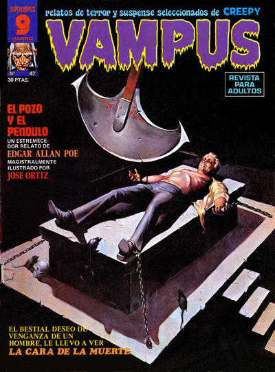Cover for Vampus (Garbo, 1975 series) #47