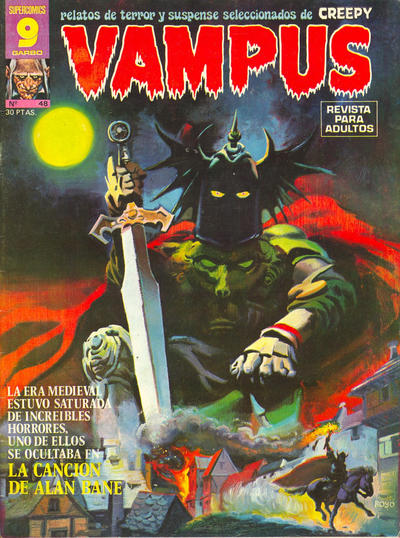 Cover for Vampus (Garbo, 1975 series) #48