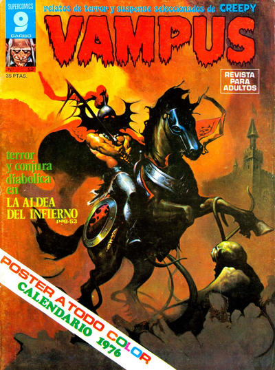 Cover for Vampus (Garbo, 1975 series) #52