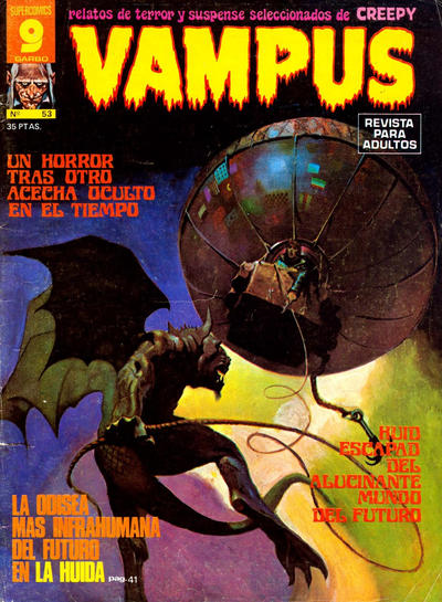 Cover for Vampus (Garbo, 1975 series) #53