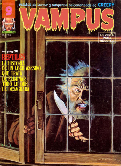 Cover for Vampus (Garbo, 1975 series) #56