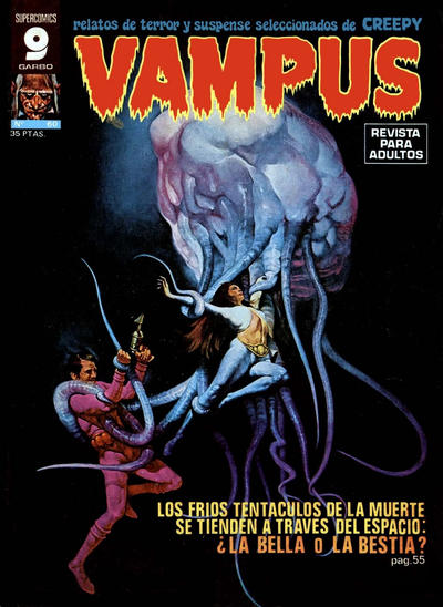 Cover for Vampus (Garbo, 1975 series) #60