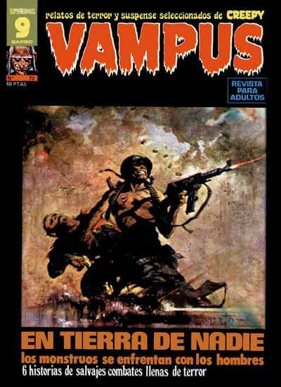 Cover for Vampus (Garbo, 1975 series) #72