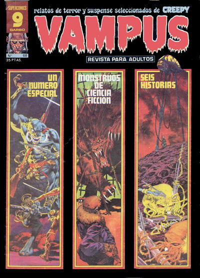 Cover for Vampus (Garbo, 1975 series) #68