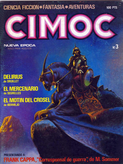Cover for Cimoc (NORMA Editorial, 1981 series) #3